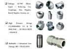 JD DELCORTE FRANCE High Pressure Forged Steel Fittings