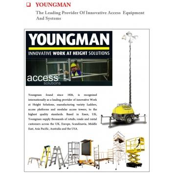 YOUNGMAN Ladders  (Aluminium/Fiberglass)