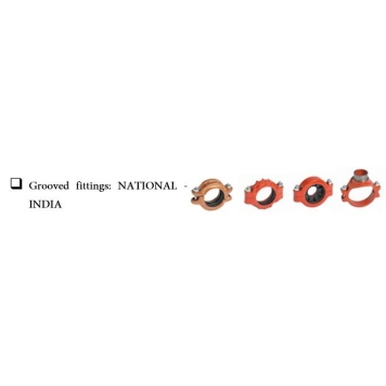 NATIONAL INDIA Grooved Fittings