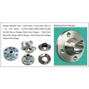 ULMA Carbon Steel Flanges