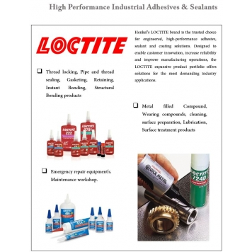 LOCTITE Industrial Adhesives & Sealants