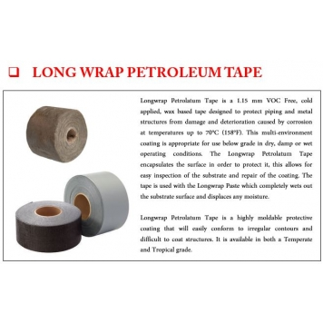 LONGWRAP Petroleum Tape