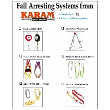 KARAM Safety Harness & Fall Arrestors