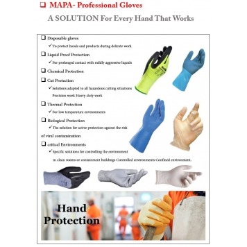 MAPA Chemical Rubber Gloves
