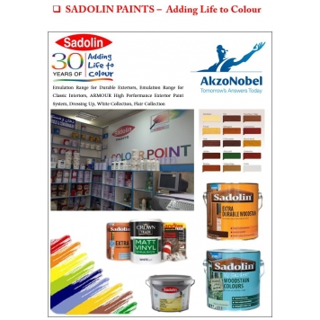 AKZO NOBEL - Sadolin Wood Working Paints