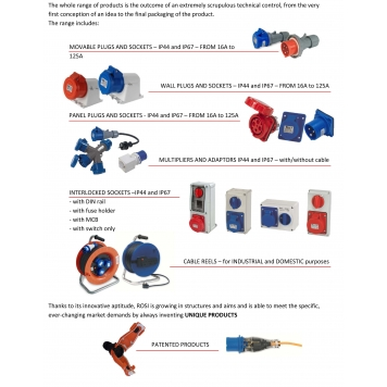 ROSI Industrial Plugs & Sockets