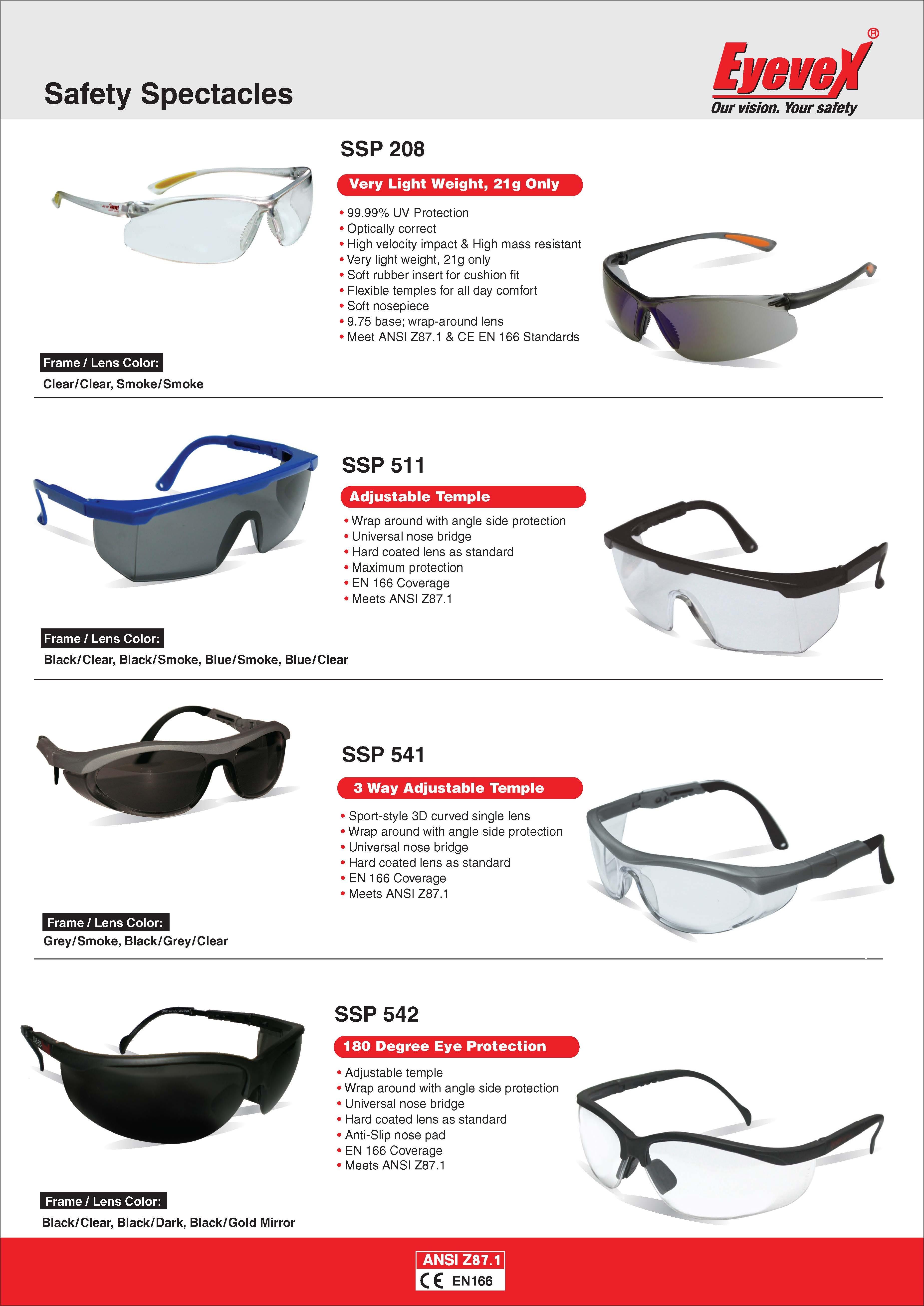 Eyevex Safety Goggles