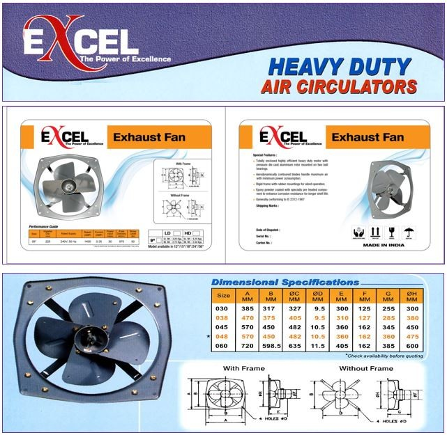 Industrial Exhaust Fans | All Products