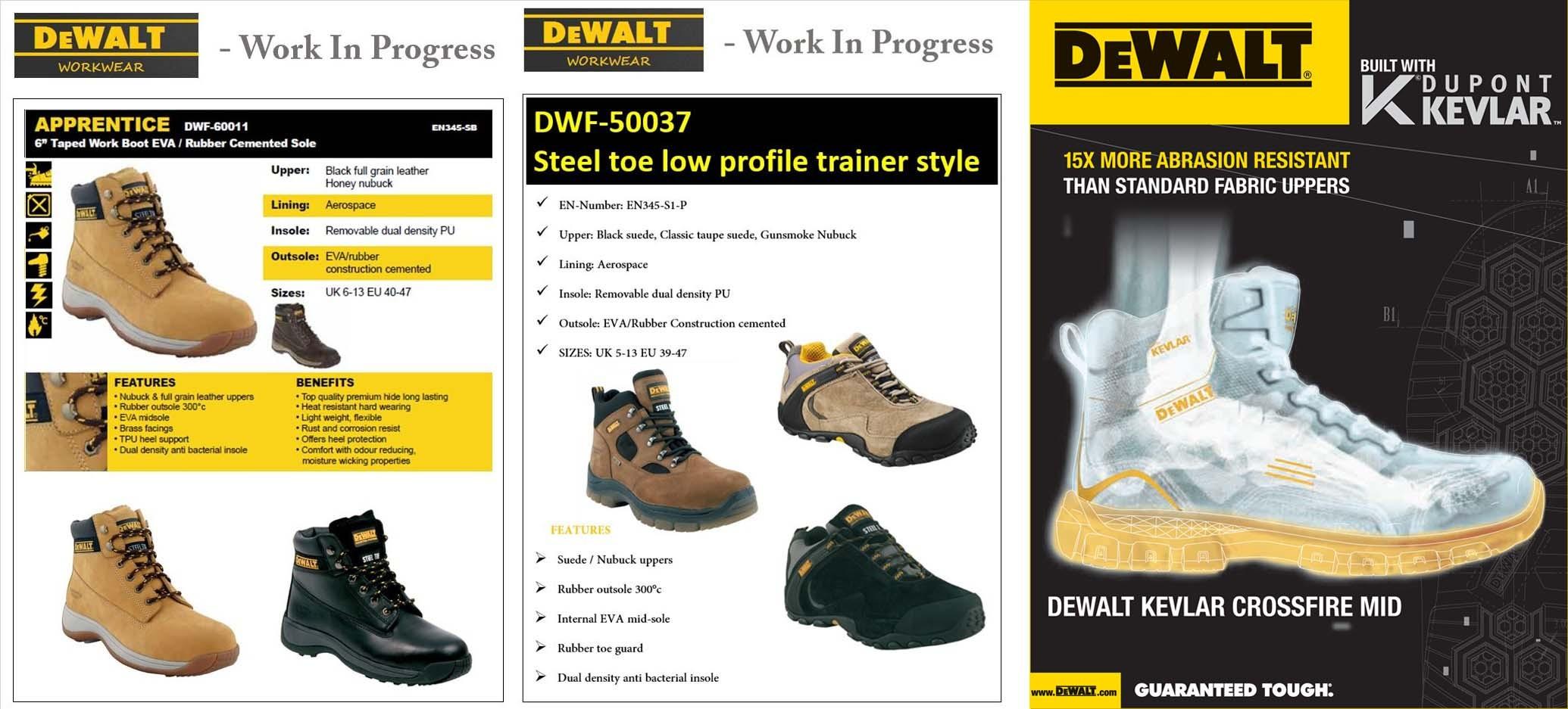 DeWALT Proton Mens Safety Shoes 9505