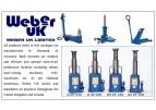 WEBER UK Garage Equipments