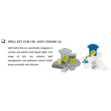 SPC BRADY Spill Kit For Oil And Chemical