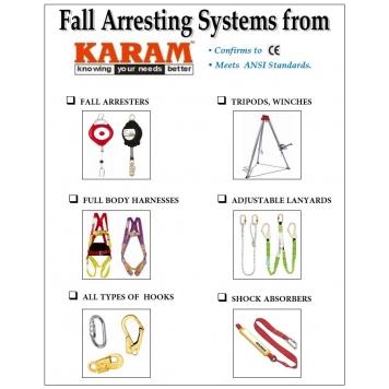 KARAM Safety Harness & Fall Arrestors