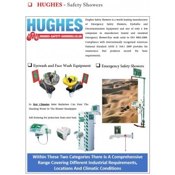 HUGHES Eye/Face Wash