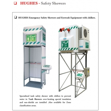 HUGHES Tank Showers